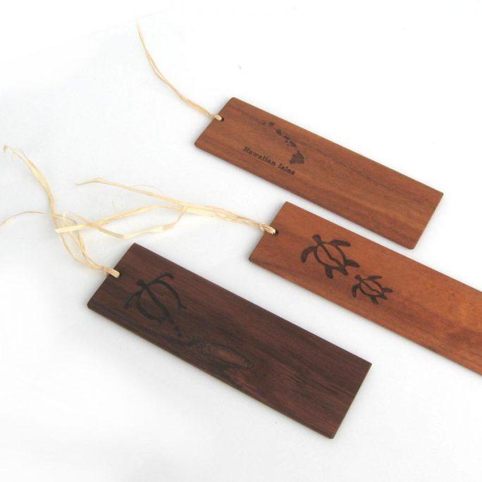 Koa Bookmarks Engraved