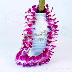 Fresh Unscented Orchid Lei