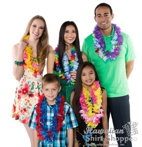Affordable and Fun Silk Party Leis