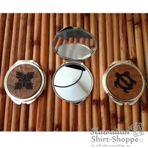 Koa Compact Mirror