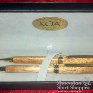 Koa Wood Executive Set