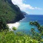 Awesome view from the Kalalau Trail