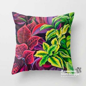 Pillow in Magical Flowers design