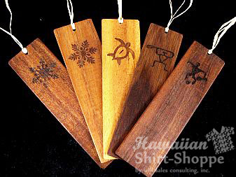 Koa Bookmarks Engraved