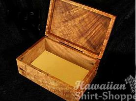 Koa Hinged Box