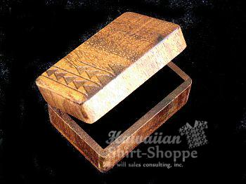Koa Hinged Box Engraved