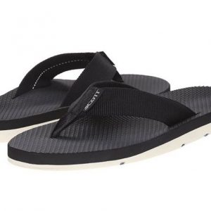 Men's Hokulea Black Flip Flops