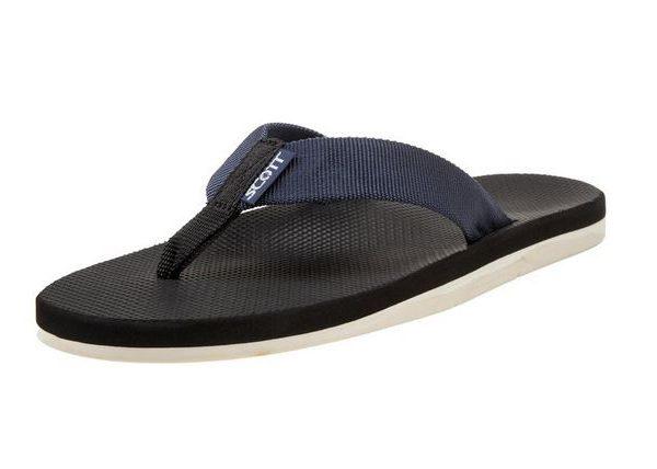 Men's Hokulea Navy Flip Flops