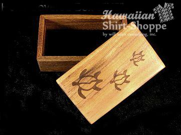 Koa Covered Box Engraved