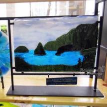 Hot Glass Surf Art Ocean