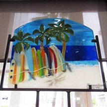 Hot Glass Surf Art