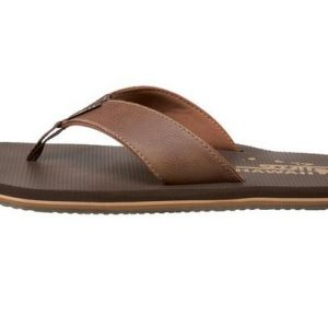 Koa Brown Flip Flops