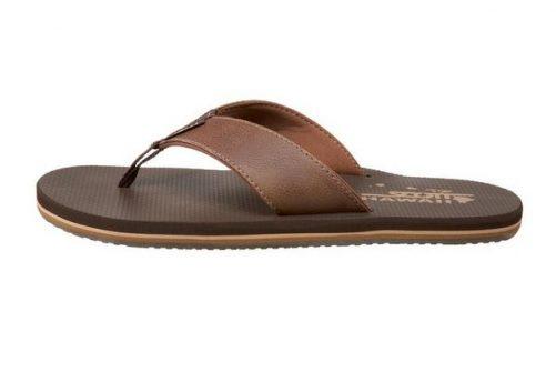 Koa Brown Flip Flops