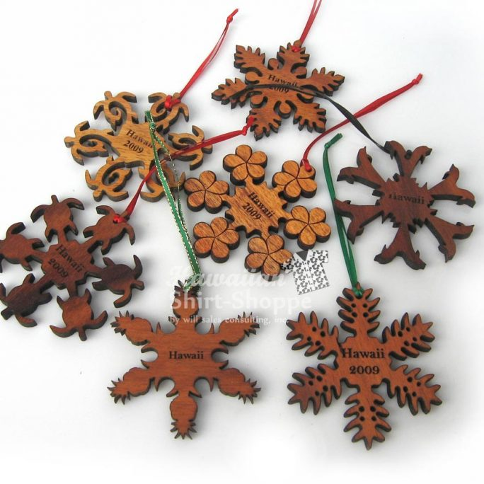 Koa Ornaments