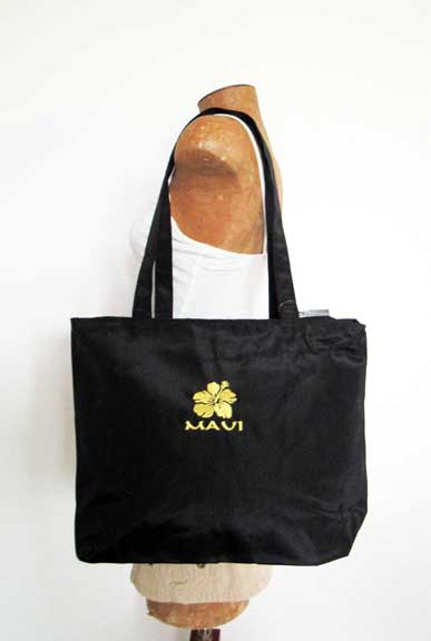 Black Maui Tote Medium side