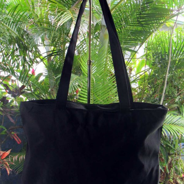Black Maui Tote Medium