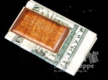 Koa Money Clip