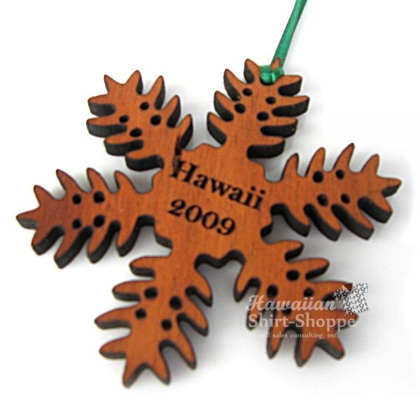 Koa Fern Ornament