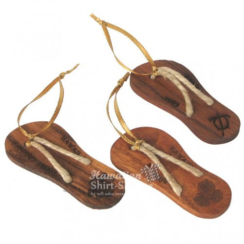 Koa Slipper Ornament