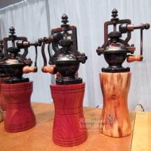 Wood and Koa Peppermills