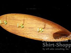 Koa Surfboard Key Rack