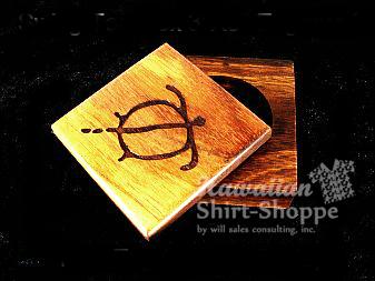Koa Swing Box Engraved