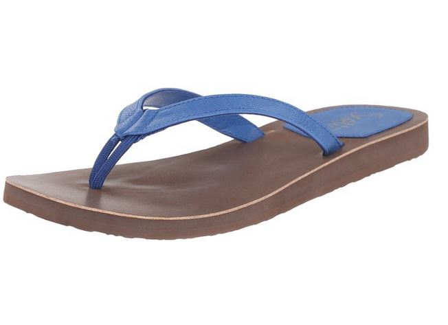 Women's Pikake Blue Flip Flops