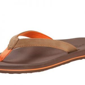 Women's Olena Tan Orange Flip Flops